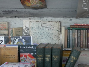 4. Books and Dubuffet, Pont Neuf