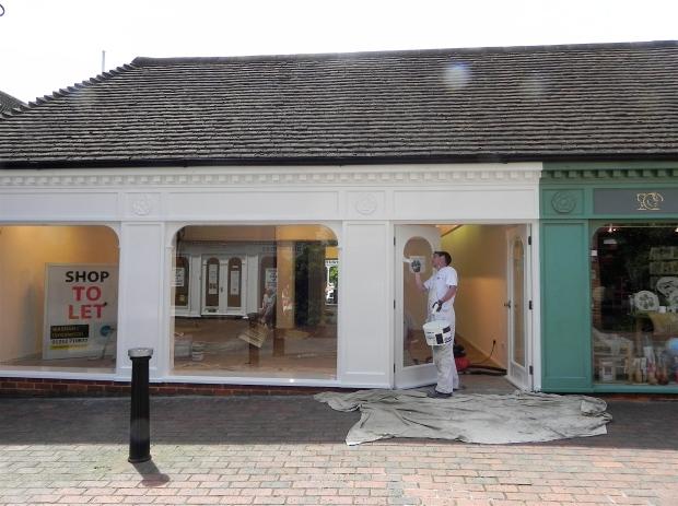 Refurbishing shop