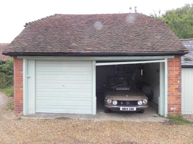 Garage with Lancia