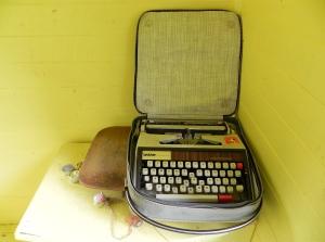 Typewriter: Heritage open day