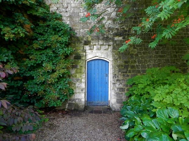 The blue door Farnham Castle