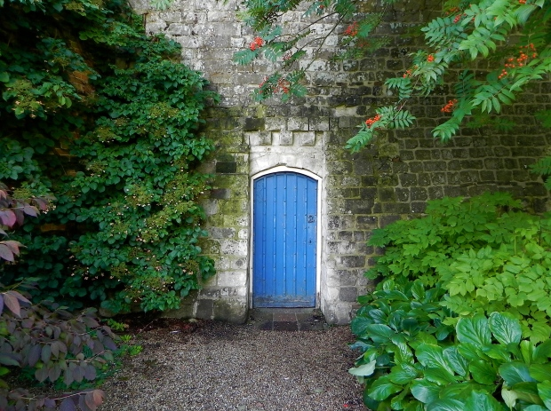 The blue door Farnham Castle