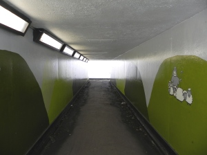 14. Architectural space: Modernist underpass