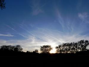 A very English sky