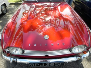 Good things of England: Triumph sports car