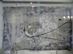 A work of art in Farnham's Museum