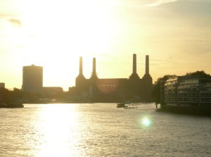 London: A view from Vauxhall Bridge