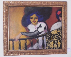 Women at the Balustrade by Kees van Dongen