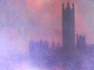 The Houses of Parliament by Claude Monet